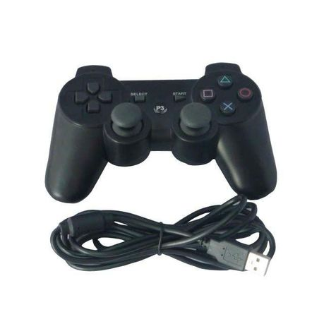 P3 Replacement Wired Gamepad Game Controller for Sony PS3 Playstation 3 &  PC Computer