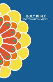 NIV Standard Printed Citrus Flower Design Bible