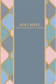 NIV Standard Printed Denim & Rose Design Bible