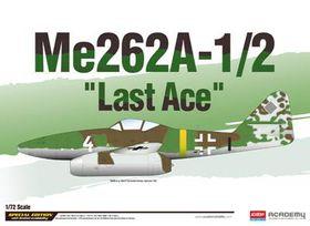 Academy Me-262a-1/2 Last Ace 1/72 Scale Model Kit