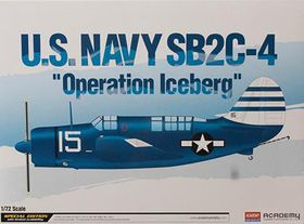 Academy Sb2c-4 Helldiver 1/72 Scale Model Kit