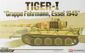 Academy Tiger I 'Gruppe Fehrmann, Essel 1945' 1/35 Scale Model Kit
