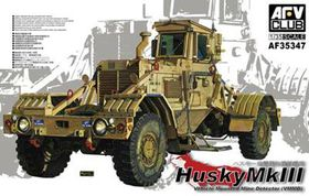 AFV Club Husky Vehicle Mounted Mine Detector MK Iii 1/35 Scale Model Kit