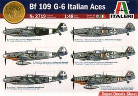 Italeri Messerschmit Bf 109g-6 Italian Aces 1/48 Scale Model Kit