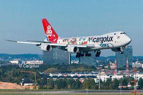 """Revell Boeing 747scale Model Kit8f Cargolux """"Cutaway"""" Scale Model Kit Ltd. Edition 1/144 Scale Model Kit"""