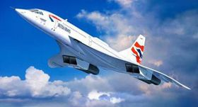 Revell Concorde British Airways 1/72 Scale Model Kit