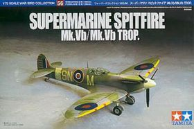 Tamiya Spitfire MK.V / MK.Vb 1/72 Scale Model Kit
