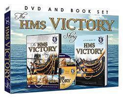 HMS Victory + Book (DVD)