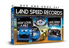 Land Speed Records + Book (DVD)