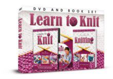 Learn to Knit + Book (DVD)