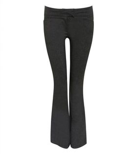 Pilot Bengaline Frog Pocket Trousers in Charcoal Grey