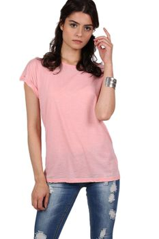 Pilot Burnout Oversized T-Shirt in Peach