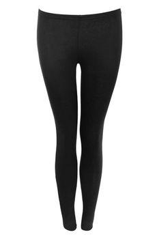 Pilot Plain Leggings in Black
