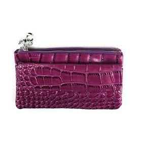 Lily & Rose Purple Faux Snake Purse TLP089