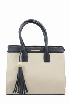 Blackcherry Womens Beige/Black Tote - Large
