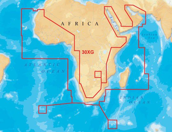 Navionics Lowrance Xl9gold Map africa Middle East Buy Online