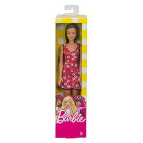 Barbie Brand Entry Doll - Red Background Dress