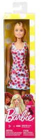 Barbie Brand Entry Doll - White Background Dress
