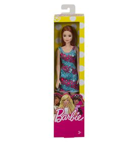 Barbie Brand Entry Doll - Blue Background Dress