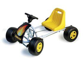 Kids Adventures Go Kart - Yellow