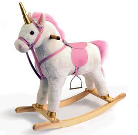 Princess Rocking Horse Unicorn in Pink