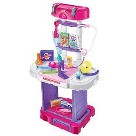 Jeronimo Pull-Along Doctor Trolley Set