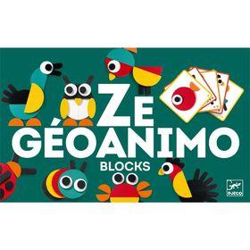 Djeco Construction Game - Ze Geoanimo