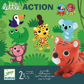 "Djeco First Toddler Games - ""Little Action"""