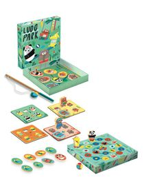 Djeco Ludo Park (4 In 1 Game)