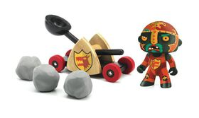 "Djeco Arty Toys - Knights ""Baldy & Big Paf"""