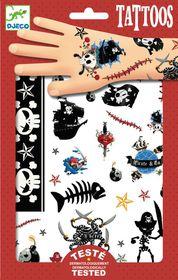 Djeco Tattoos - Pirates