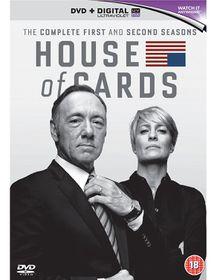 House Of Cards Season 1-2 (DVD)