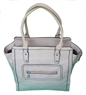 Sotto PU Leather Tote HX-N140359 - Dark Grey