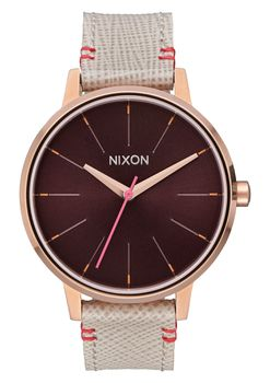 Kensington Leather Rose Gold & Brown - A1081890-00