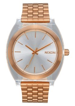 Time Teller Acetate Rose Gold & Clear - A3272628-00