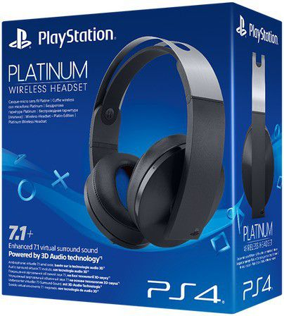 Sony Playstation Platinum Wireless Headset Ps4 Buy