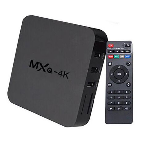 Android Tv Box 4k Quad Core Android 5 1 Mxq Buy Online In South