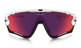 Oakley Jawbreaker  Sport Sunglasses - PRIZM Road / Polished White