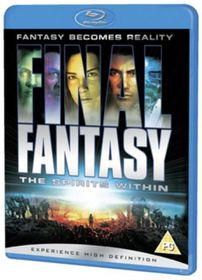 Final Fantasy-The Spirits Within - (Import Blu-ray Disc)