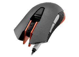 Cougar 550M 6400Dpi Gaming Mouse-Colour-Iron Grey with Orange Detail