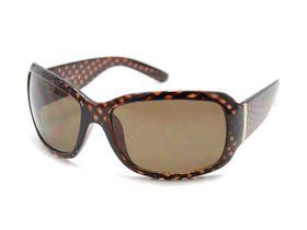 POP Ladies Choc Plastic Frame Sunglasses