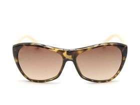 POP Ladies Tortoiseshell & Nude Slight Cateye Sunglasses
