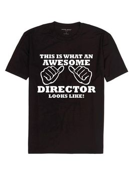 This Is What An Awesome Director Looks Like  T-Shirt - Black