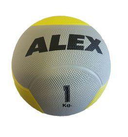 Alex Rubber Medicine Ball - 1kg