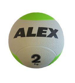 Alex Rubber Medicine Ball - 2kg