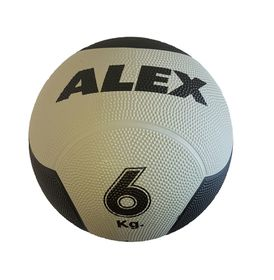 Alex Rubber Medicine Ball - 6kg