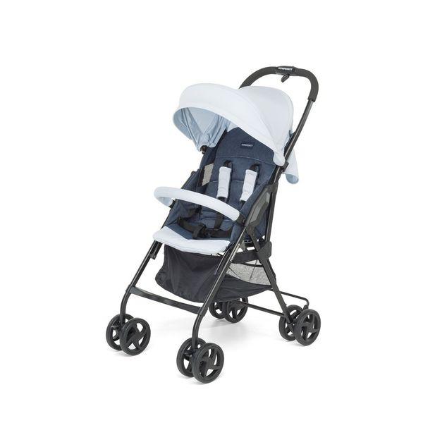 Foppapedretti - Piuleggero Stroller - Pearl Jeans - Denim Light Blue
