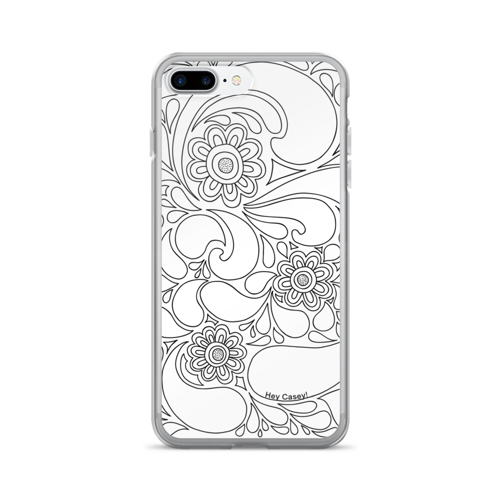 Colouring for adults south africa - Adult Coloring Petal Splash Phone Cover Case For Iphone 7 Plus Loading Zoom
