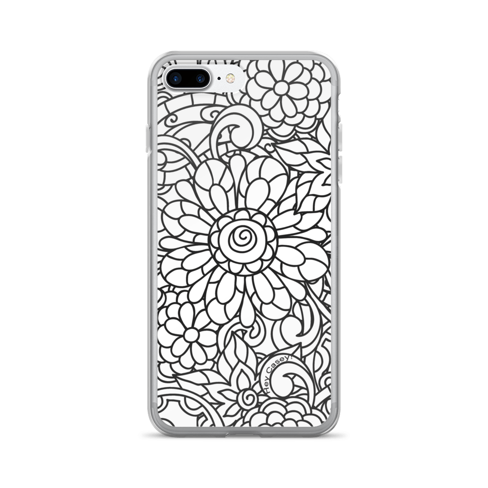 Colouring for adults south africa - Adult Coloring Floral Design Phone Cover Case For Iphone 5 5s Loading Zoom