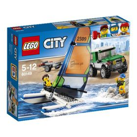 LEGO® City Great Vehicles 4x4 with Catamaran: 60149